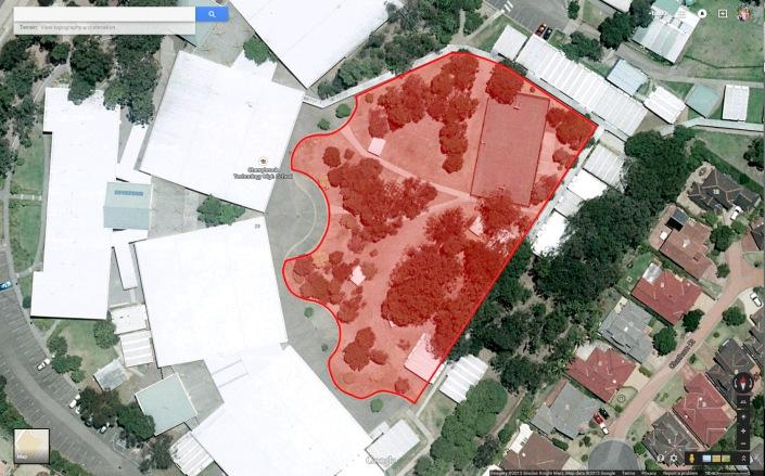 CTHS_aerial_map